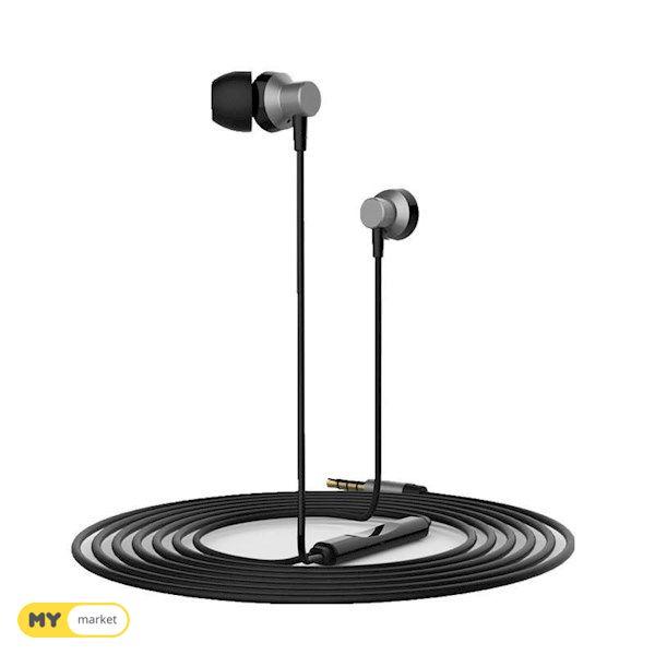 ყურსასმენი REMAX Metal Wired Music Headset RM-512 silver