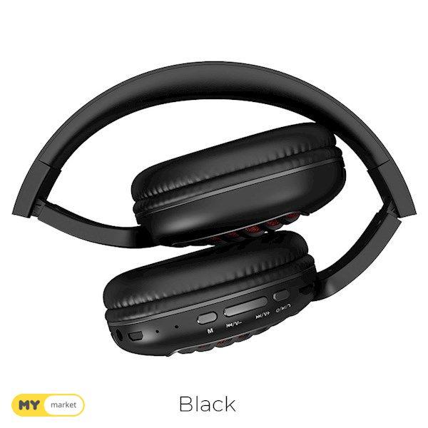ყურსასმენი HOCO W23 Brilliant sound wireless headphones blac