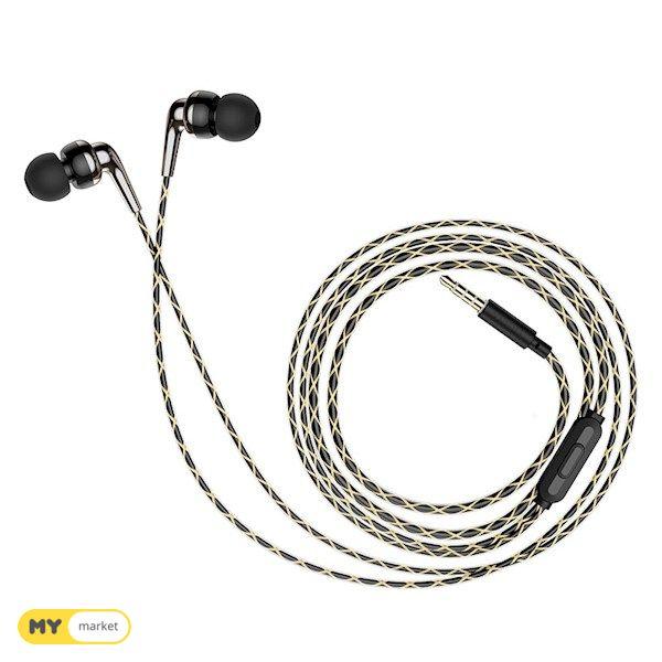 ყურსასმენი HOCO M71 Inspiring universal earphones with mic B
