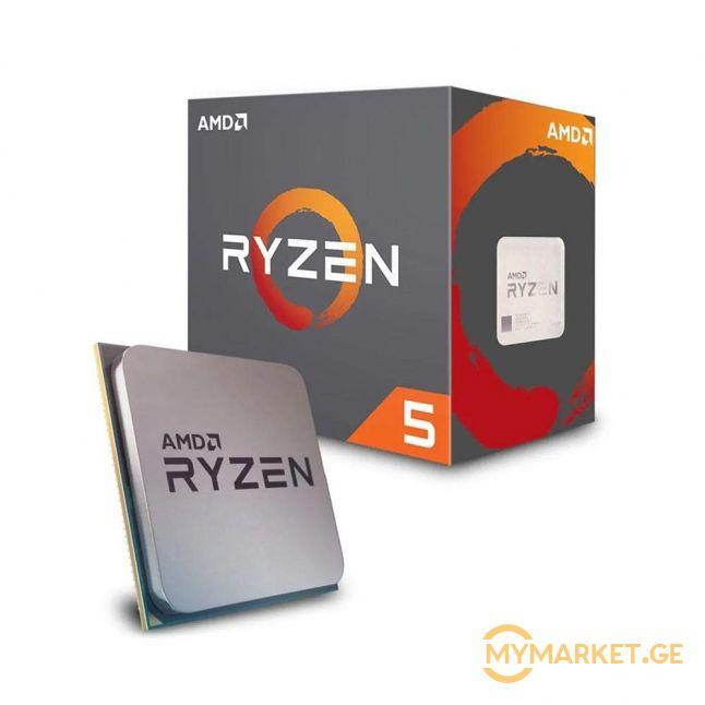 ახალი/უხმარი AMD Ryzen 5 2600X Processor with Wraith Spire C