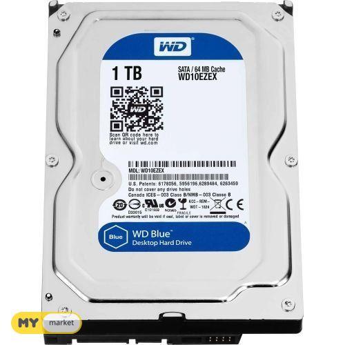 დესკტოპის HDD SATA 1TB 6GB/S 64MB BLUE WD10EZRZ WDC