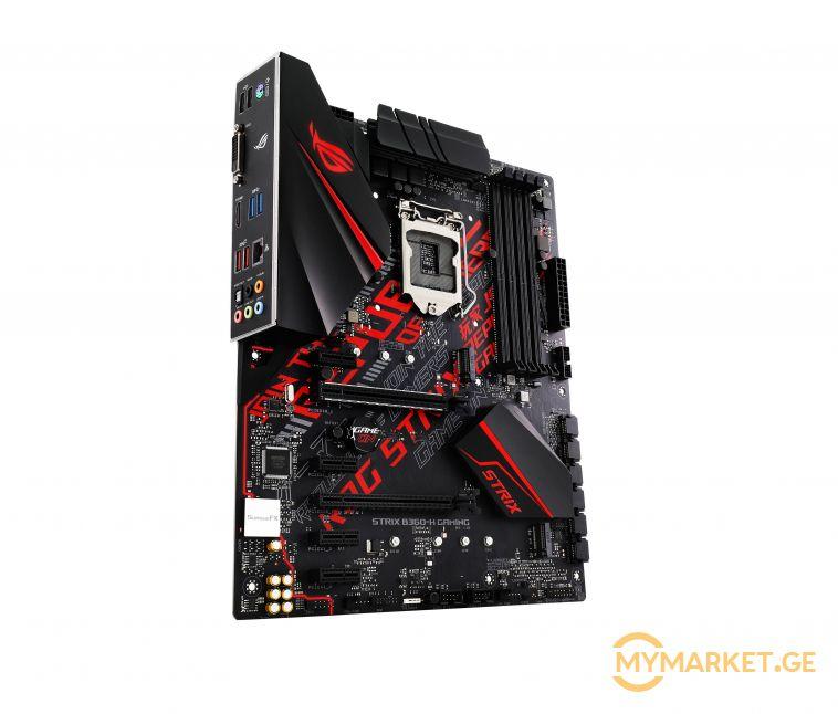 დედაპლატა - Asus Strix B360-H Gaming