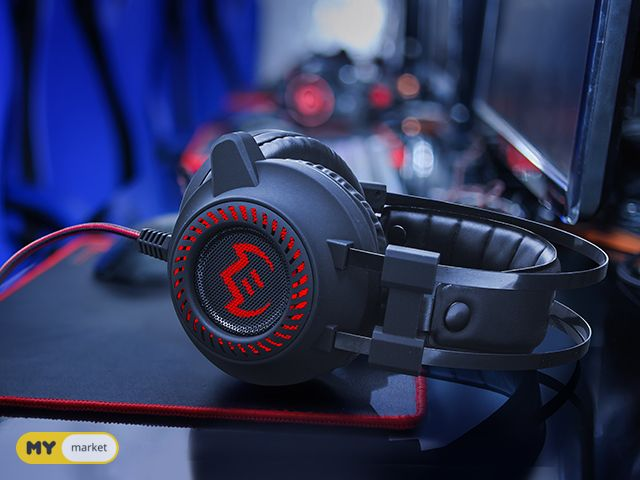 ახალი GAMING HEADSET Sven U840