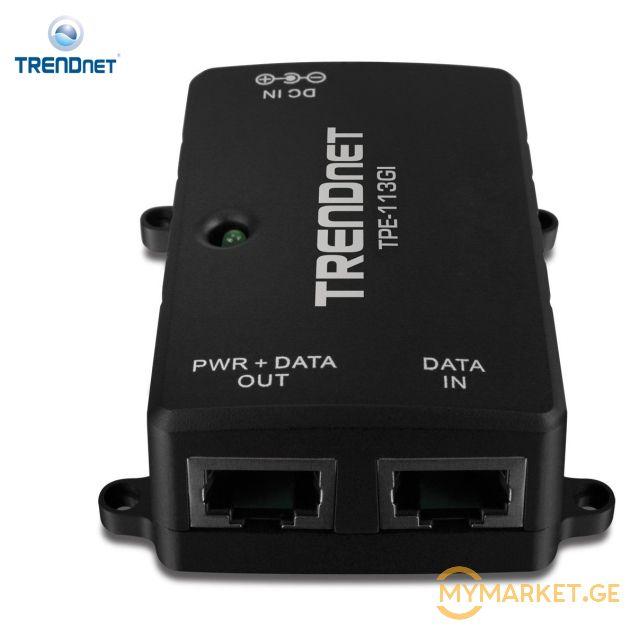 ქსელის გამანაწილებელი TRENDNET Gigabit Power over Ethernet (