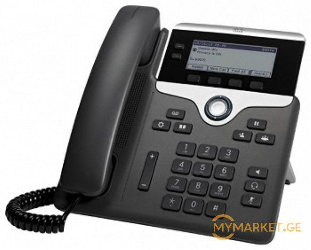 სტაციონალური ტელეფონი  Cisco UC Phone 7821  CP-7821-K9=