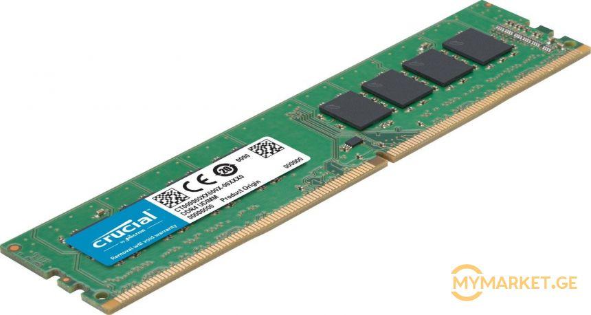 MEMORY DIMM 8GB  CRUCIAL (2400)