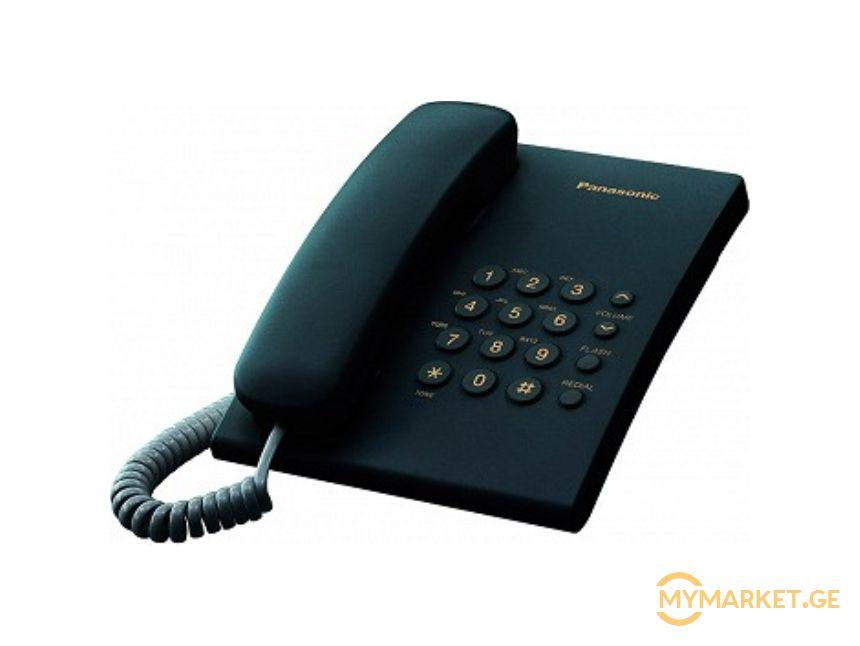 Panasonic  KX-TS2350UAB ITS-Redial, Flash, Wall mountable.Bl