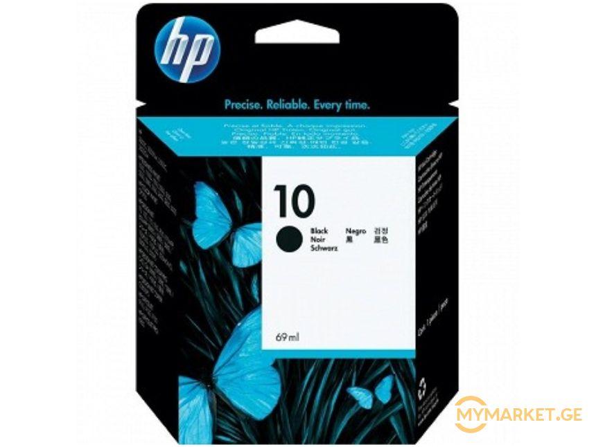 კარტრიჯი HP C4844A  10 Black Ink Cartridge