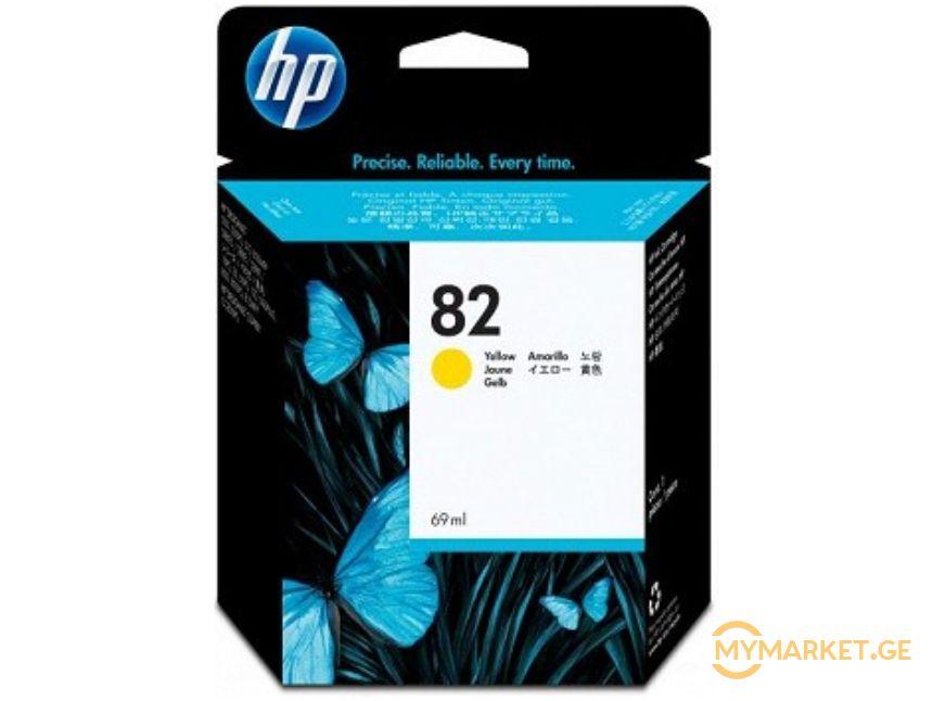 კარტრიჯი HP C4913A  82 Yellow Ink Catridge (69ml)