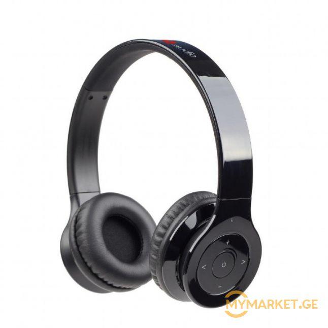 "Bluetooth stereo headset ""Berlin"", black , BHP-BER-BK"
