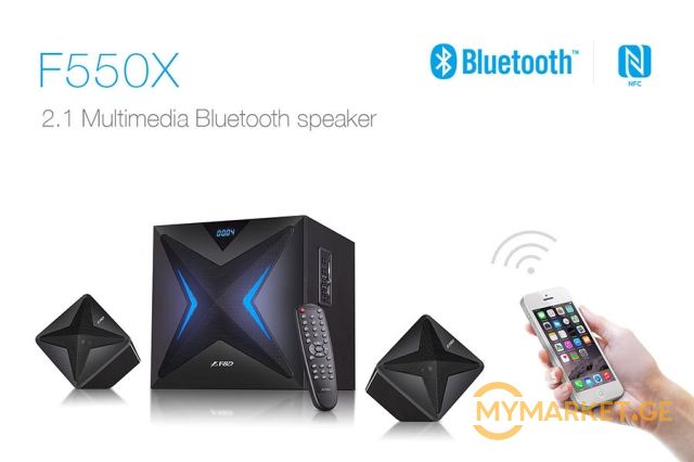 დინამიკი Fenda F550X 2 1 multimedia bluetooth speaker