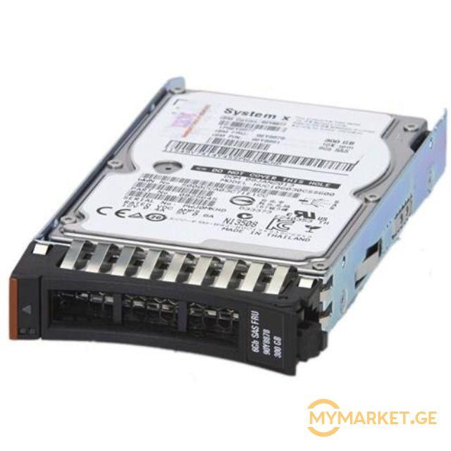 """მყარი დისკი  Lenovo 300GB 10K 6Gbps SAS 2.5"""" SFF PI G2HS HDD"""