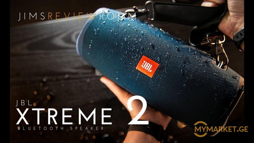 JBL XTREME 2(2019) BIG პრემიუმ ხარისხის