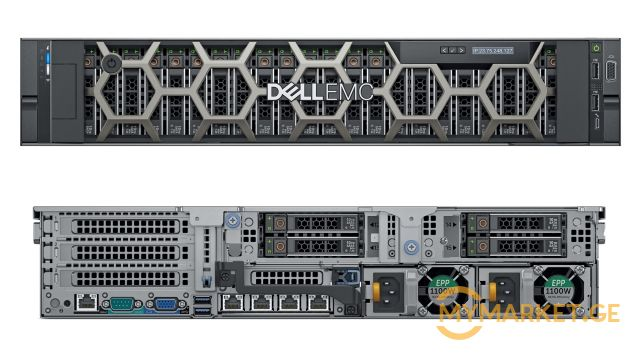 სერვერი DellEMC PowerEdge R740XD Server/ Intel Xeon Gold 612