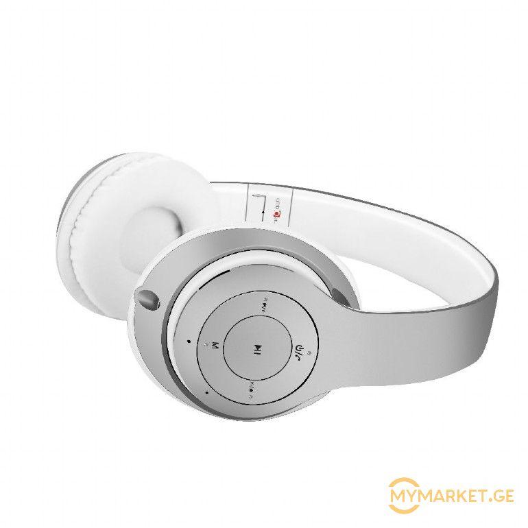 "BHP-MXP-SW  (Bluetooth stereo headset ""Milano"", silver-white"