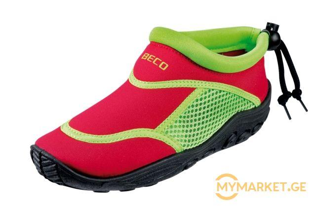 საბავშვო წყლის ფეხსაცმელი BECO 92171 58 33 red/green