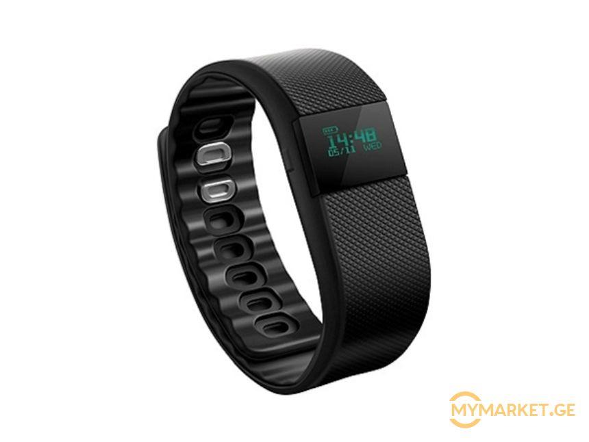 Acme ACT02 activity tracker OLED, Black, 80 mAh, Bluetooth,