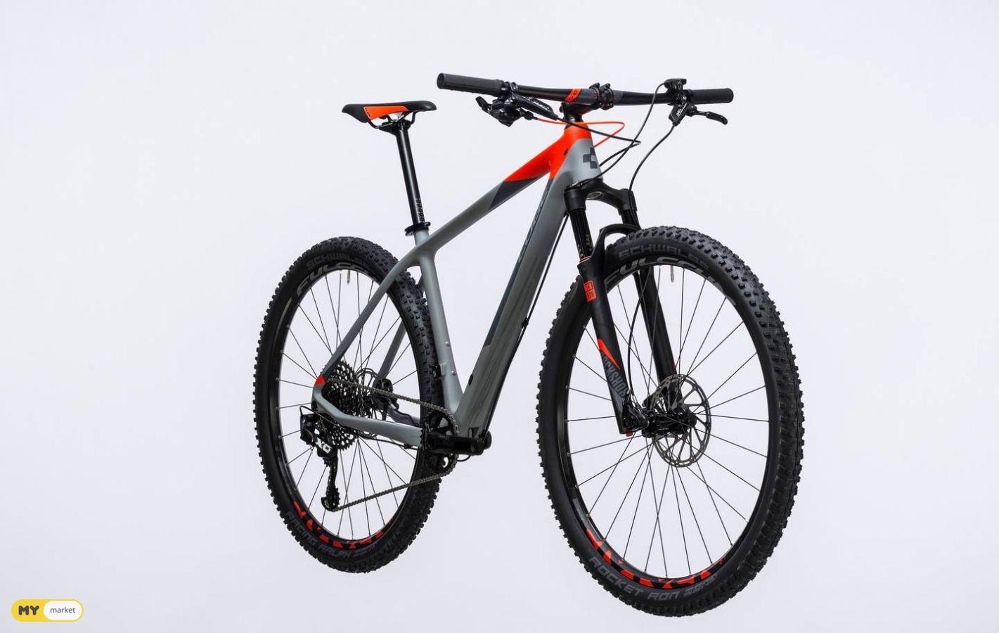 CUBE 29-ni  გერმანული ველოსიპედი ჟიტკოსტზე