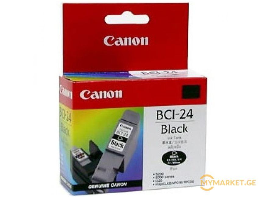კარტრიჯი Canon BCI-24BK ფერი BLACK