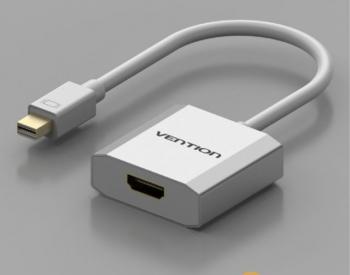 გადამყვანი VENTION HBAWB Mini DP to HDMI Converter 0.15M Whi