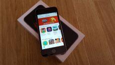 iphone 5s 4G LTE 16GB sim free სასაჩუქრე ! ახალივით