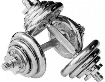 ჰანტელები 10 კგ ganteli განტელი განტელები ჰანტელი