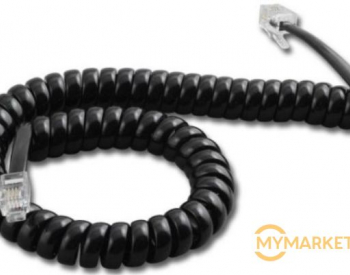 ტელეფონის სადენი home phone cable with  RJ-9