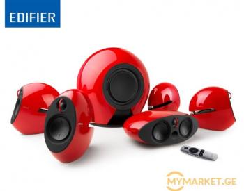 დინამიკი Edifier E255 Luna 5.1 Speakers RMS 16W × 5 (treble)