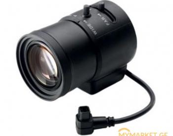 ფოტოაპარატის ლინზა  LVF  5003N S3813 Varifocal lens  3.8-13m