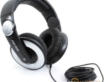ყურსასმენი Sennheiser  HD 205 II west Black  Cable length 3