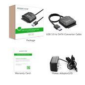 მყარი დისკის  წამკითხველი UGREEN CR108 USB 3.0 to SATA Hard