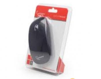 მაუსი Gembird MUS-103 USB Black, 1200 DPI 3-button optical m