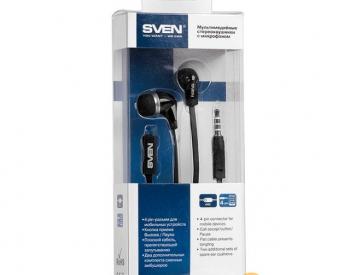 ყურსასმენი  SVEN SEB-260M, black
