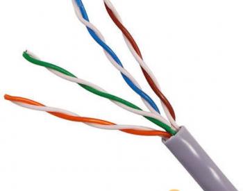 ქსელის კაბელი   CAT5 UTP LAN CABLE WITH MASSAGER 305M