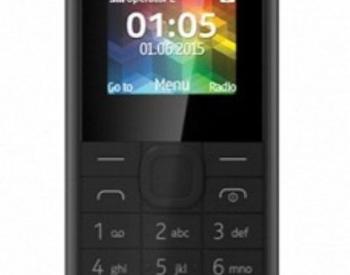 NOKIA 105 DUAL SIM BLACK