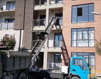 სამშენებლო ნარჩენების გატანა- ტვირთების გადაზიდვა