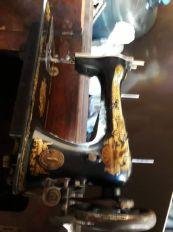 სინგერის ფეხის საკერავი მანქანა.