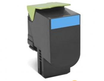 Lexmark 70C2HCE Cartridge, Cyan, 3000 pages