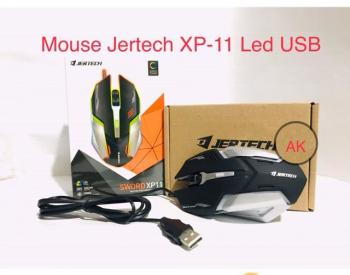 MOUSE GAMING  JERTECH XP11 MOUSE LED 30 ლარად