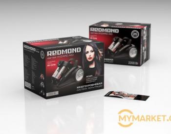 მტვერსასრუტი Redmond RV-C316-E Black Bagless Dual Cyclonic H