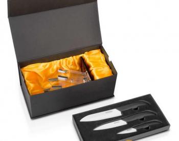 Redmond Ceramic Knives, Black and white -3 Pieces