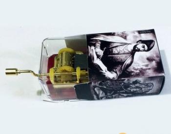 სუვენირი, მექანიკური მუსიკალური ყუთი. მელოდია: სულიკო. ოთხი