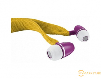 ყურსასმენი  TRUST Shoelace style in-ear headset for tablet a
