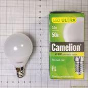 ნათურა Camelion Led Lamp LED5-G45/830/E14 ნათურა ლედ განათებ