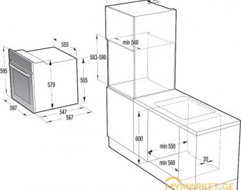 ელექტრო ღუმელი - GORENJE - BO635E11XK2
