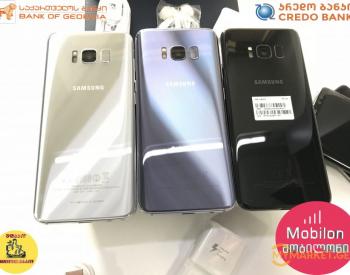 Samsung galaxy s8  მაღაზიიდან გარანტიით და განვადებით.