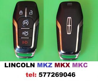 LINCOLN MKZ , MKC, MKX . სმარტ გასაღები დაპროგრამებით