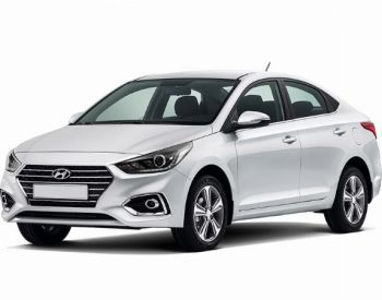 Hyundai Accent -საქარე მინები