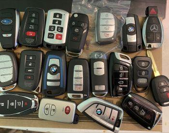 გასაღების პროგრამირება,მანქანის გახსნა.