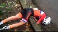 რიო 2016: ჰოლანდიელი ველომრბოლელის საშინელი ტრავმა (ვიდეო)